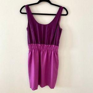 JCREW DRESS PINK/PURPLE - size 0